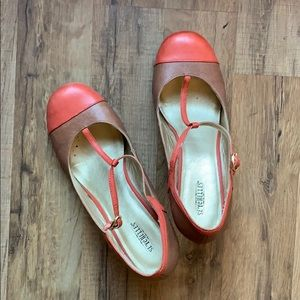 Seychelles mary jane wedges size 11